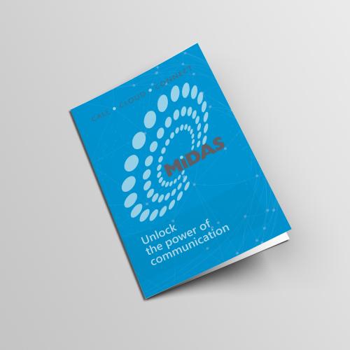 Midas Communications Brochure Cover