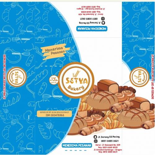 setya bakery packaging