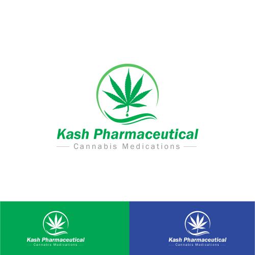 Kash Pharmaceutical logo Design