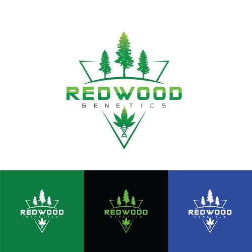 RedWood Genetics logo
