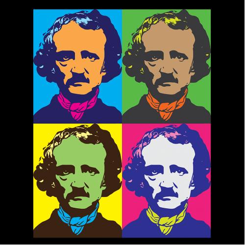 Edgar Allan Poe pop art