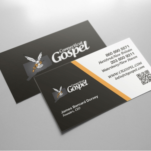 Bussines Card  for our client Gospel