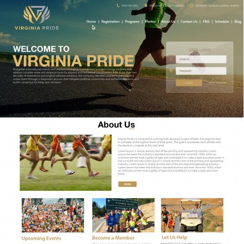 Virginia Pride Running Club website