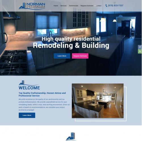 NORMAN BUILDER WEBSITE