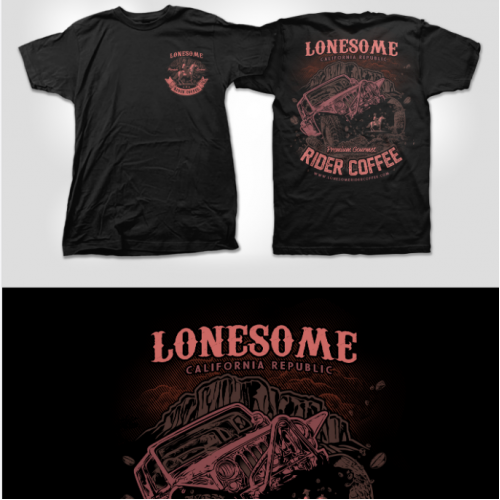 Lonesome Rider Coffee Company T-shirt