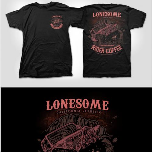 Lonesome Rider Coffee Company T-shirt