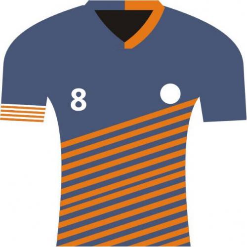 Sport Shirt Design. designed for model football company