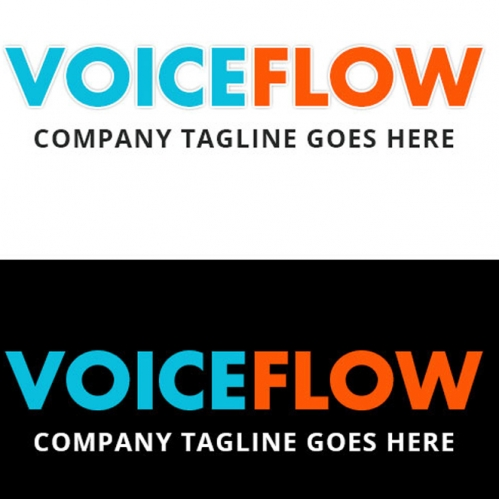 Voice Flow- Logo