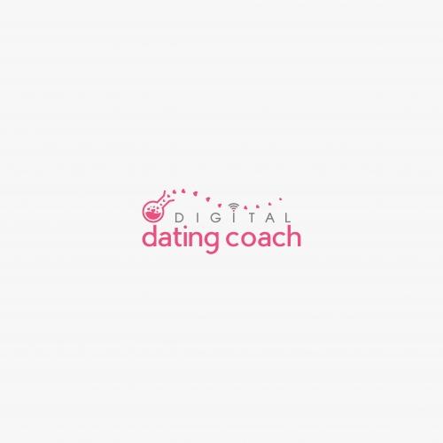 Digital Dating Coach Logo Design