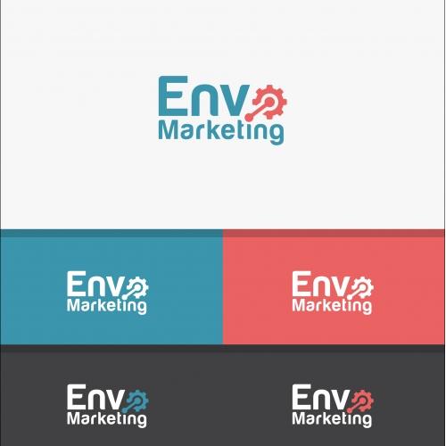 Envo marketing logo design