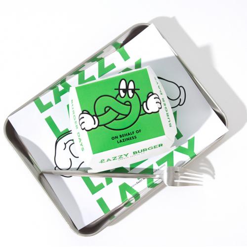 Lazzy Burger logo