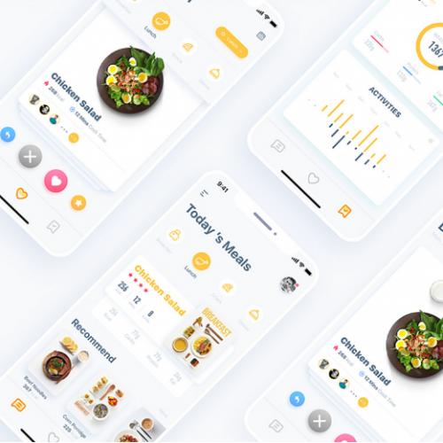 COOKFIT App UI Design