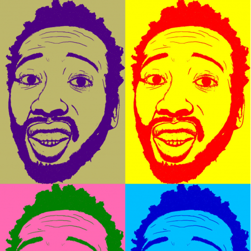Ol dirty bastard Portrait Pop Art