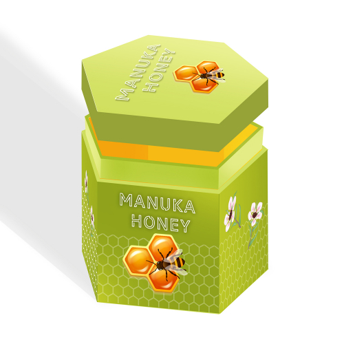 Gift Box Idea and Mockup - Manuka Honey