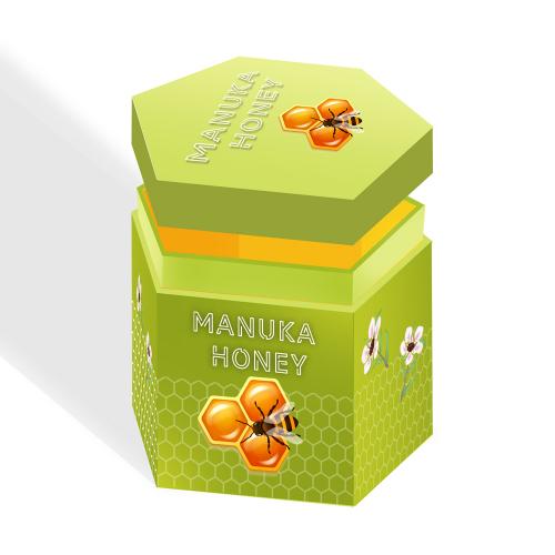 Gift Box Idea and Mockup - Manuka Honey
