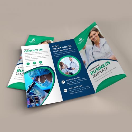 I will design professional brochure, annual report for