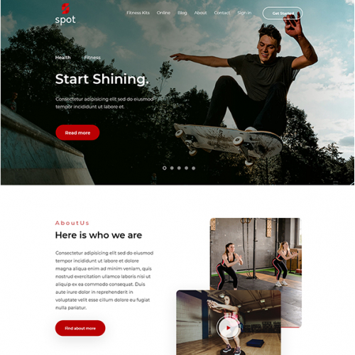 I will design and customize show it website or template