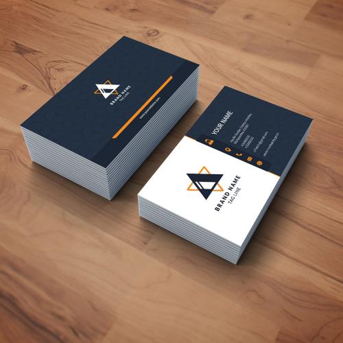 I will do unique business card design