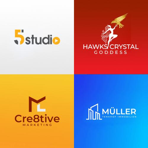 I will design modern, minimalist, and business logo