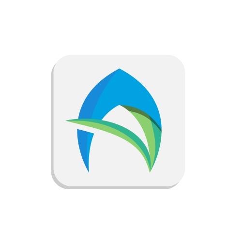 Travel and shop app logo