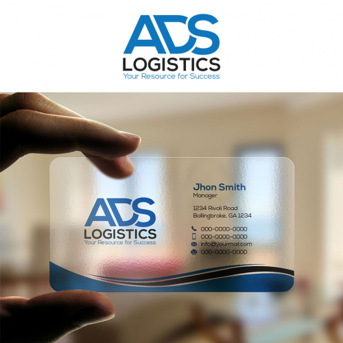 Modern business card and logo