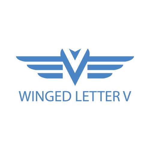 Winged Letter V