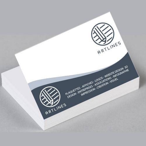 Art Lines  business card