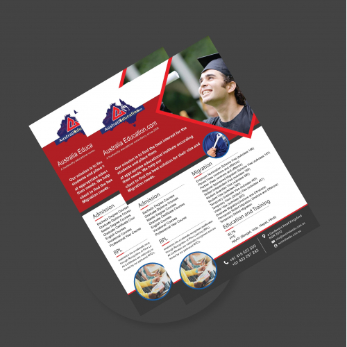 Education A3 Flyer design