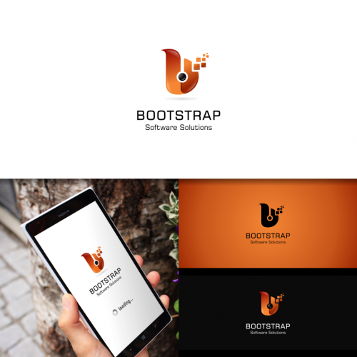 Computer Logo Design required by Bootstrap Software Solutions