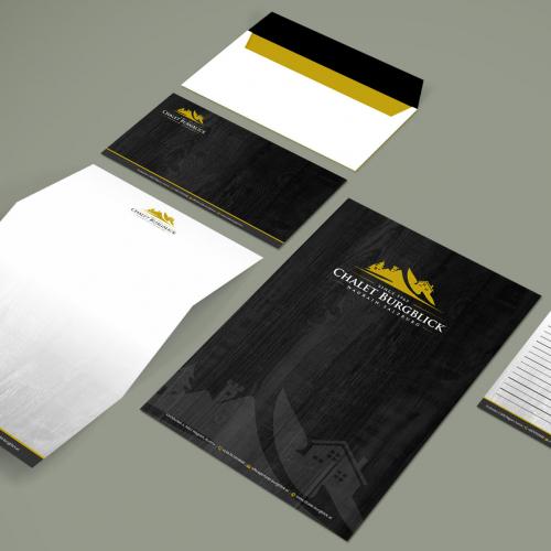Stationery design concept