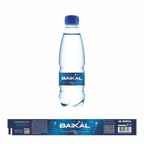 Label mineral water