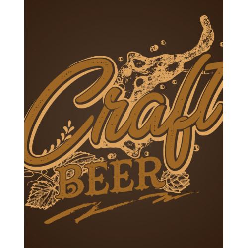 Craft Beer Typografy