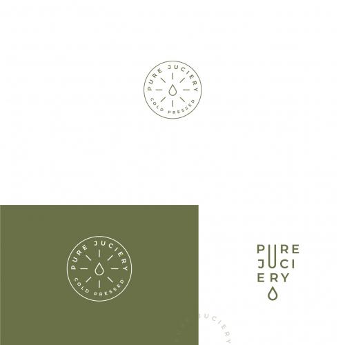 Minimal Logo for Juice Business