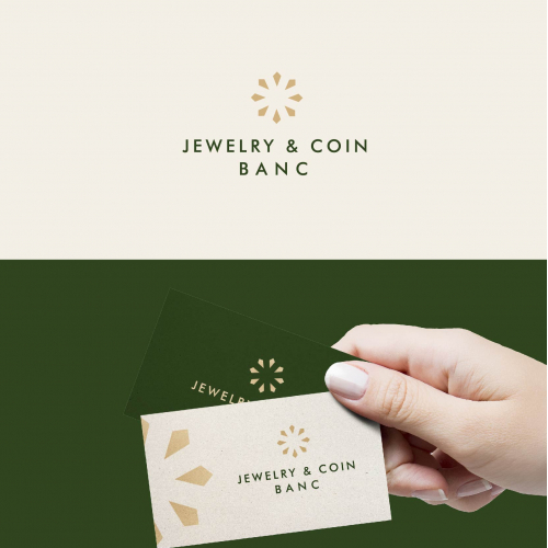 Clean and Luxury Logo Design Jewelry