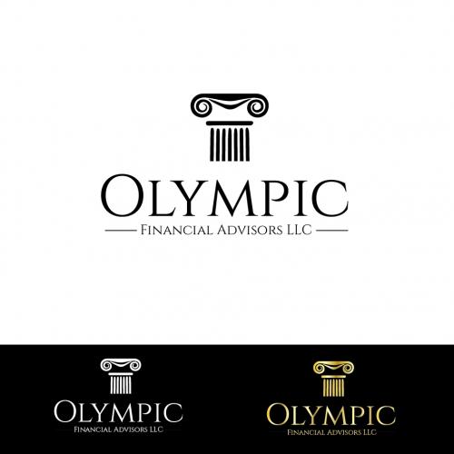 Logo concept for Olympic Financial Advisors LLC
