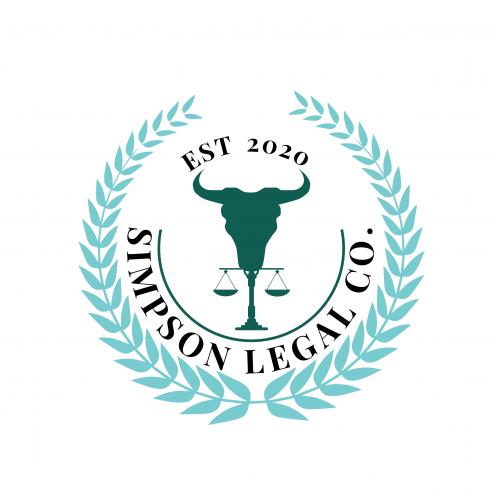 Simpson Legal Co. logo