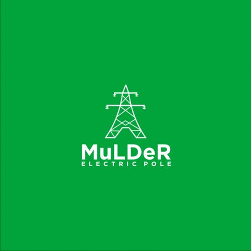 Mulder Electric Pole logo