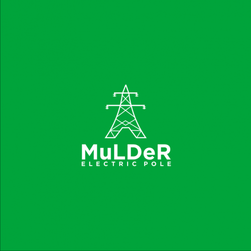 Mulder Electric Pole logo