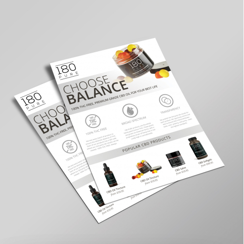 Product Flyer Design