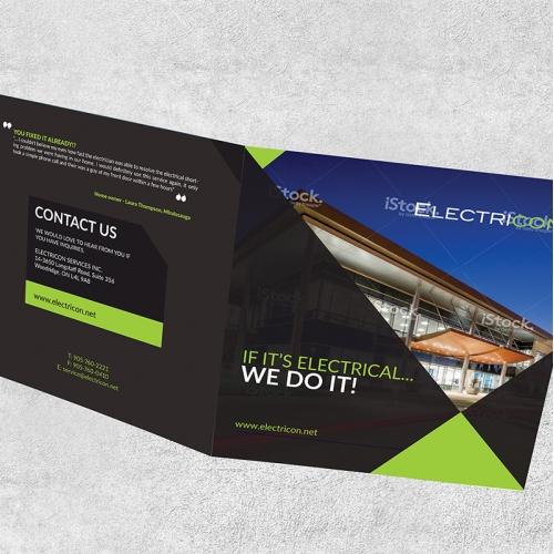 Tri-Fold Brochure Design Mock-up