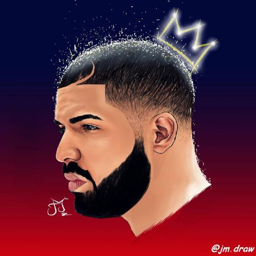 Drawing of Drake