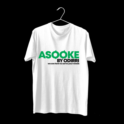 T shirt design for ASOOKE BY ODIRRI