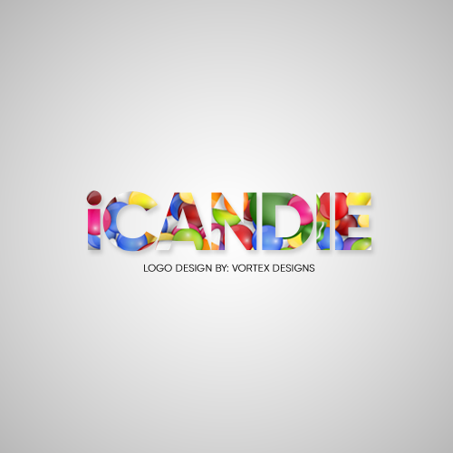 LOGO DESIGN FOR iCANDIE STORE