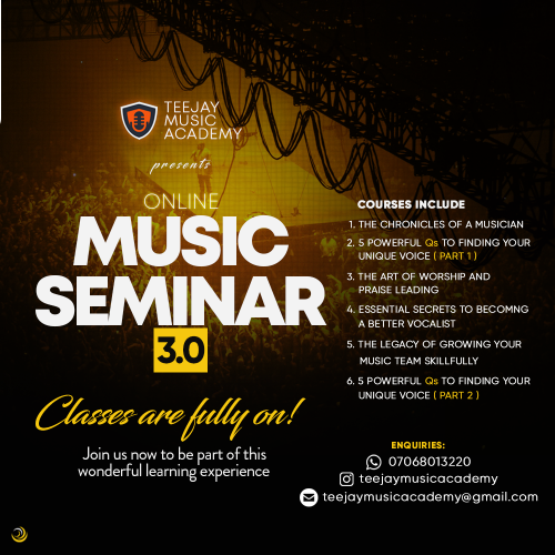 Graphics for Teejay Music Academy