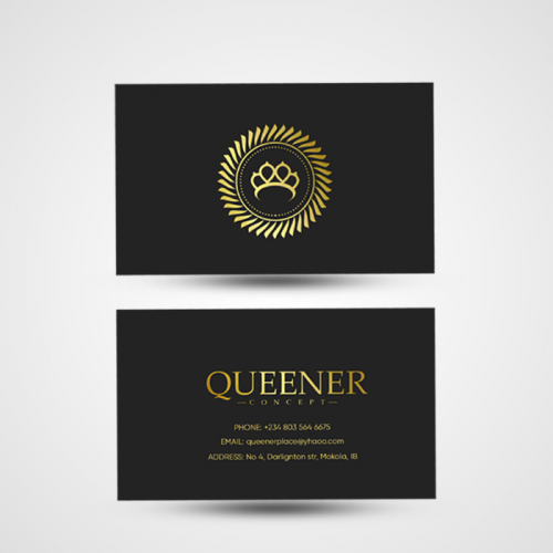 Business Card for Queener Concept