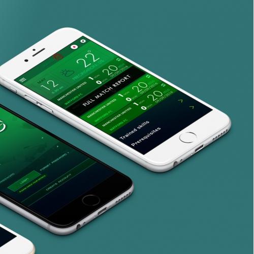 Sport mobile app