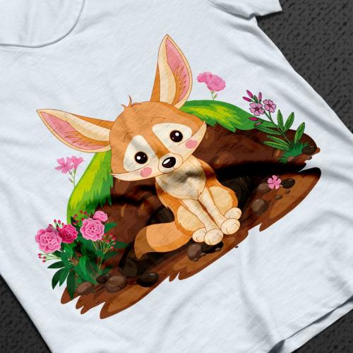 Fennec Fox T shirt