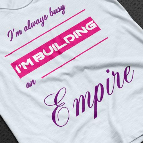 Women Entrepreneur t shirt