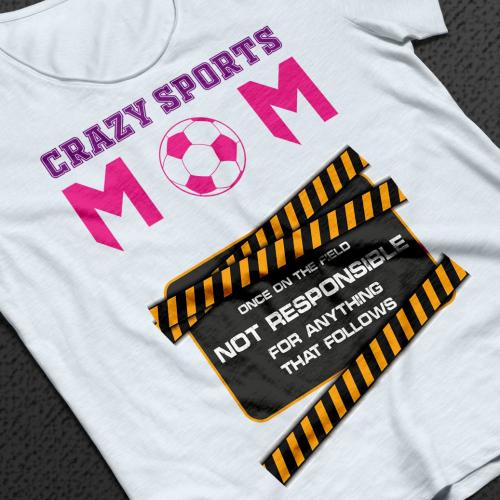Sports MOM t shirt