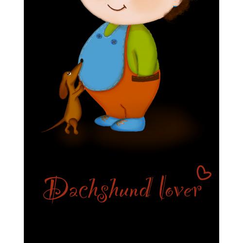 dachshund lover phone pattern